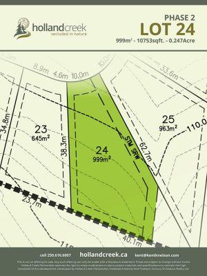 Holland Creek Development PHASE 2 Lotplan24