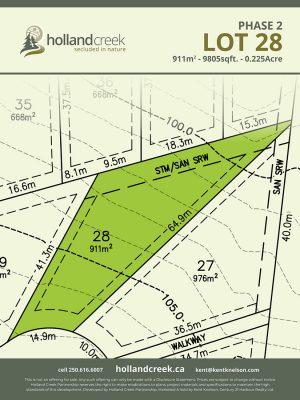 Holland Creek Development PHASE 2 Lotplan28