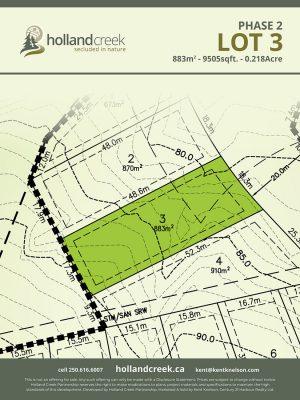 Holland Creek Development PHASE 2 Lotplan3