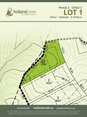 Holland Creek Development STAGE 3 Lot1