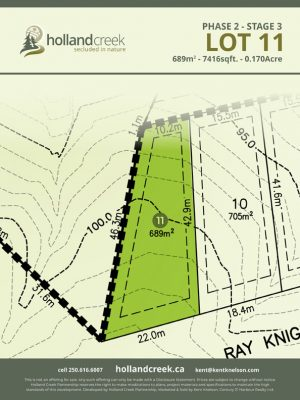 Holland Creek Development STAGE 3 Lot11