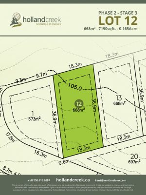 Holland Creek Development STAGE 3 Lot12