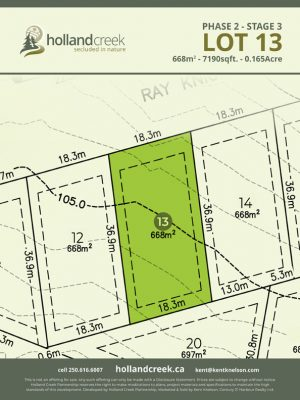Holland Creek Development STAGE 3 Lot13