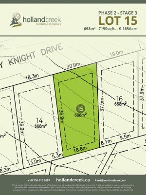 Holland Creek Development STAGE 3 Lot15