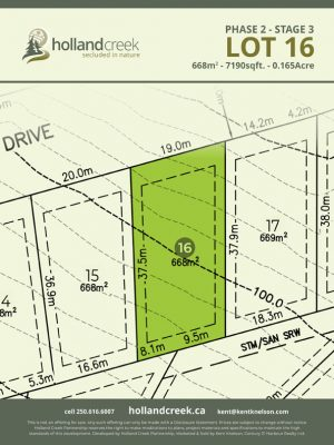 Holland Creek Development STAGE 3 Lot16