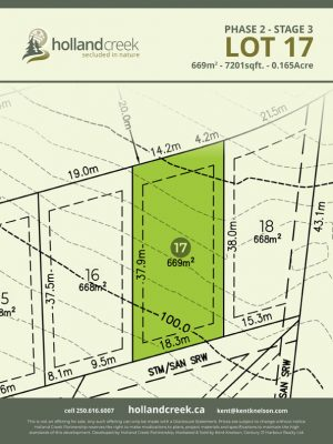 Holland Creek Development STAGE 3 Lot17