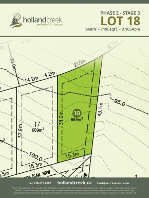 Holland Creek Development STAGE 3 Lot18