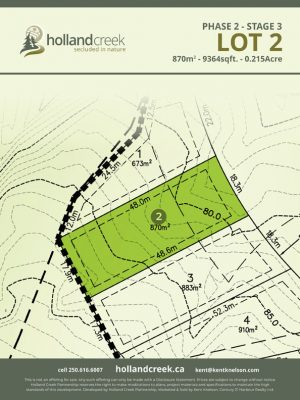 Holland Creek Development STAGE 3 Lot2