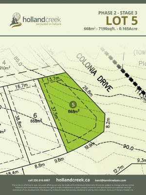 Holland Creek Development STAGE 3 Lot5