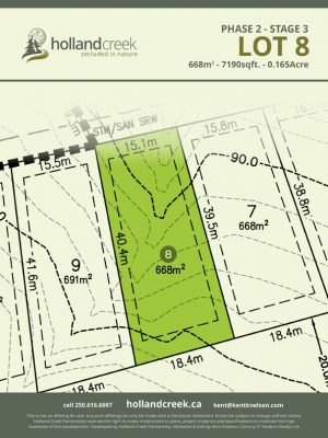 Holland Creek Development STAGE 3 Lot8