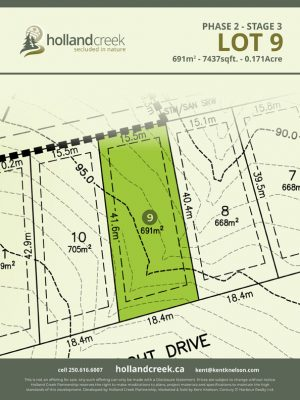 Holland Creek Development STAGE 3 Lot9